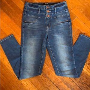 Super Skinny Super high skinny stretch jeans